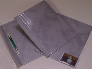 Applications of colored foils, paper folders, Fatra