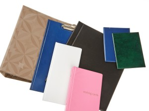 Application of colored foils, folders, pads, Fatra