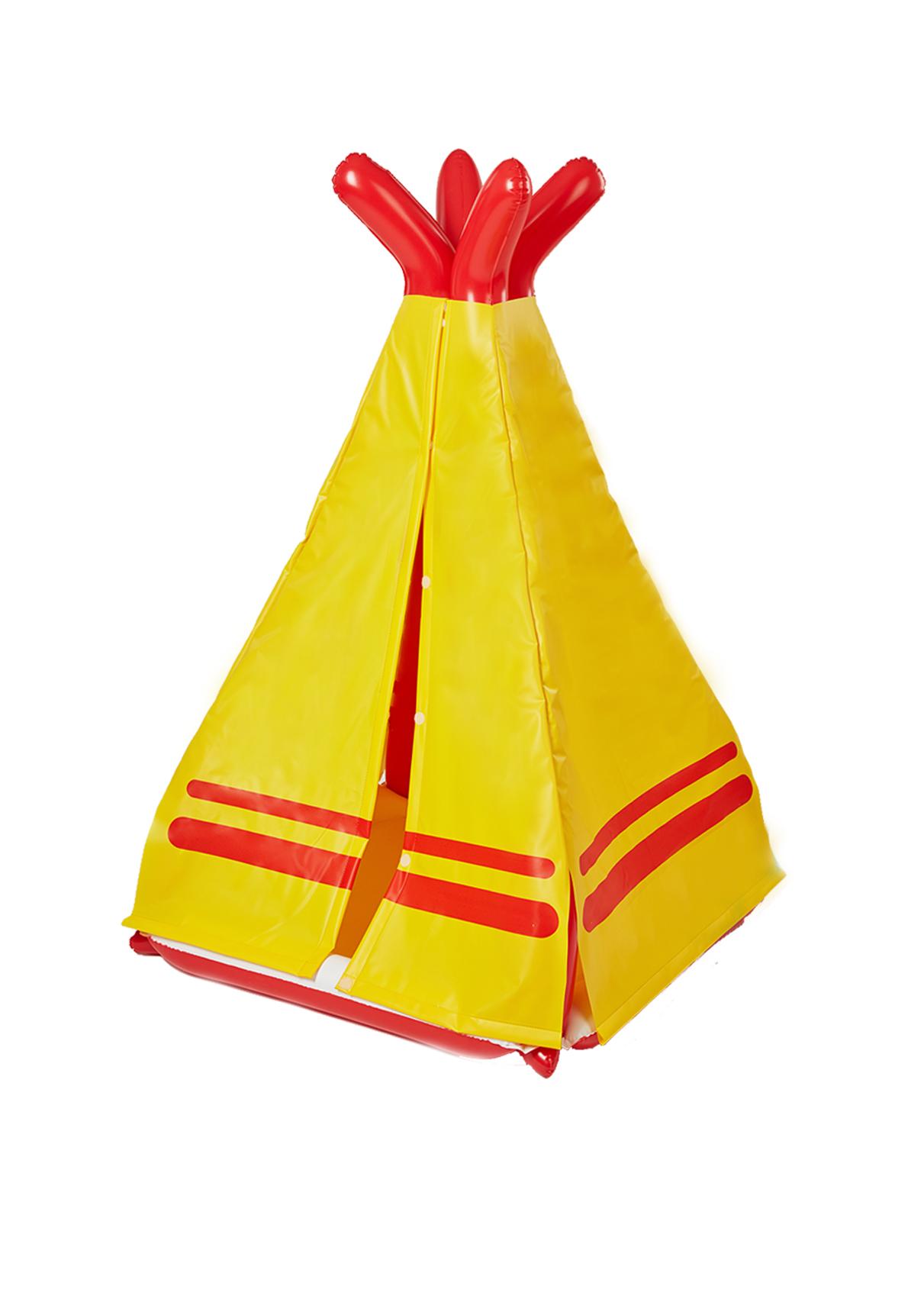 Nafukovací hračka - Indiánské teepee, Fatra