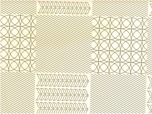 Tablecloths type 850, pattern 1220-B, Fatra