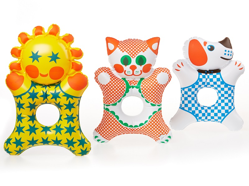 Nafukovací hračky - Micinka, Sluníčko, Punťa, Fatra
