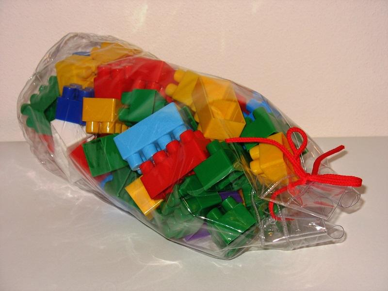 Aplikace transparentní fólie, obal na hračky