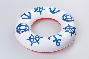 Inflatable ring, anchor, Fatra