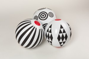Míče kolekce Black and White, Zuzana Lednická, Fatra