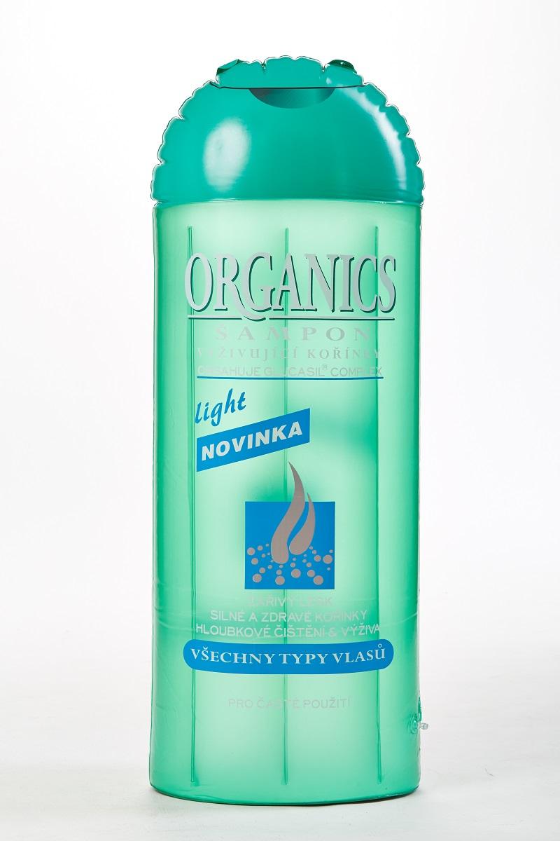 Nafukovací reklamní předmět, Šampon, Fatra