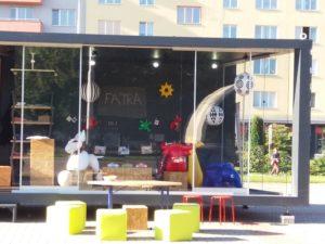 Sdílko Ostrava Poruba, nafukovací hračky, Fatra