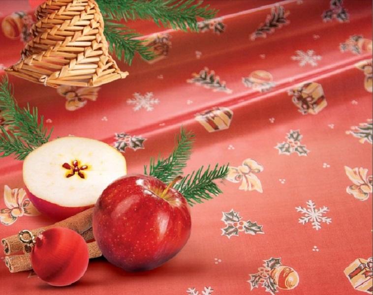 Nabídka ubrusovin s vánočními motivy