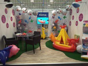 Stánek Fatry na veletrhu Spielwarenmesse 2017
