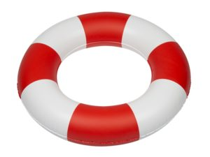Inflatable toy, swimming ring, Lifeguard
