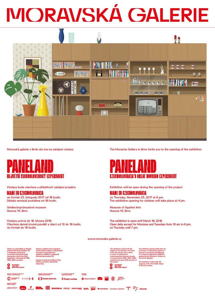Nafukovací hračky na výstavě PANELAND v Moravské galerii