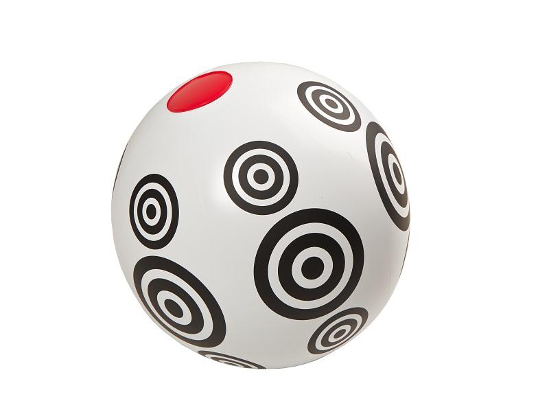 Nafukovací hračka - Míč s kolečky, Kolekce Black and White, Fatra