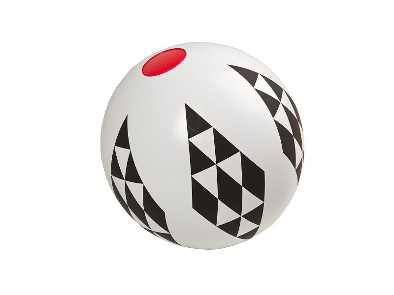 Nafukovací hračka - Míč s kosočtverci, Kolekce Black and White, Fatra