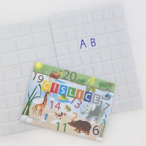 PVC-P foil type 847, school trays for letters and numbers