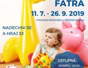 Výstava nafukovacích hraček na Zámku ve Slavkově u Brna